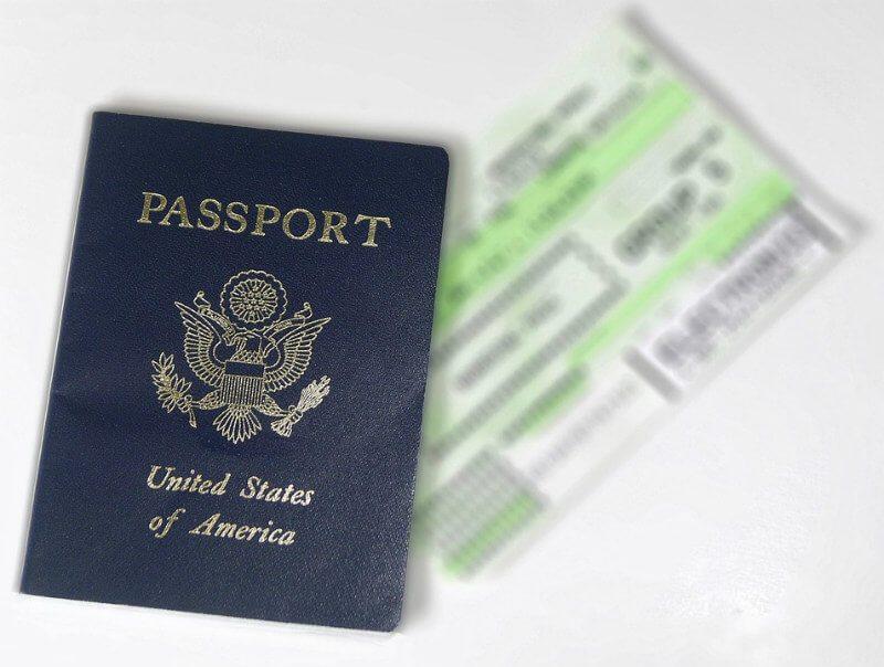 Passport and travel document