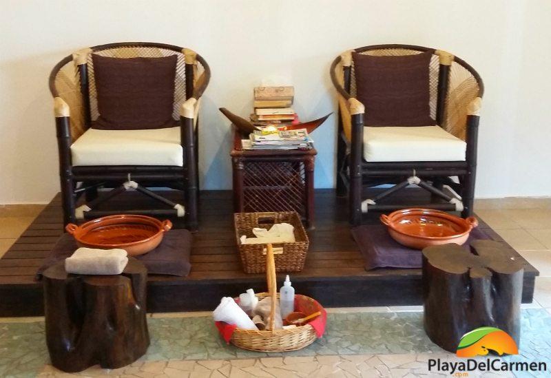 spa pedicure at the BRIC spa
