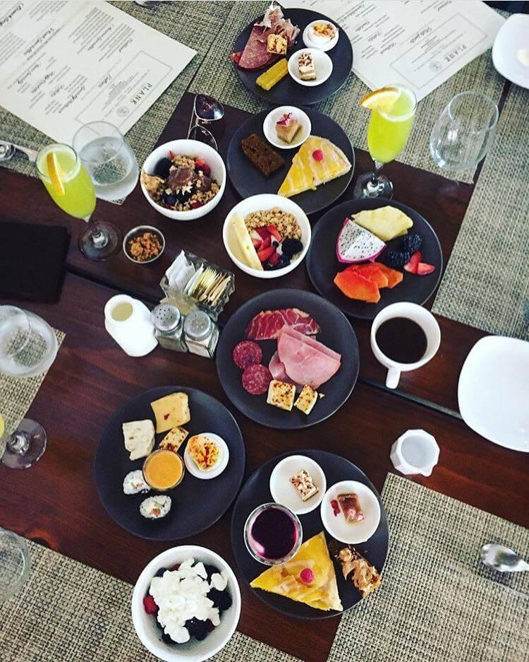plank breakfast