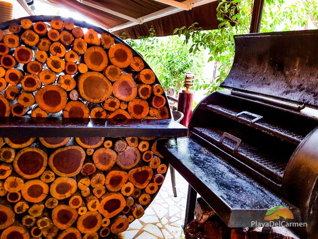 Smokert at Plank Gourmet Grill Restaurant in Playa del Carmen