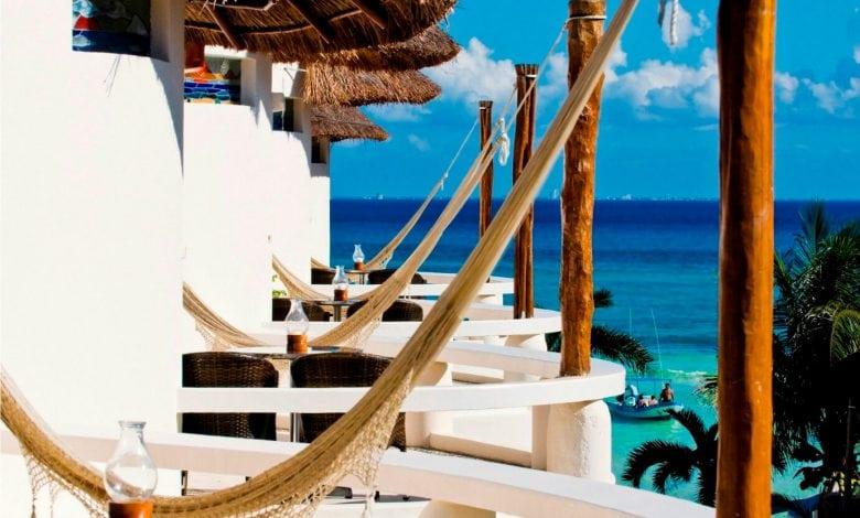 Playa Palms Boutique Hotel Playa del Carmen hammocks