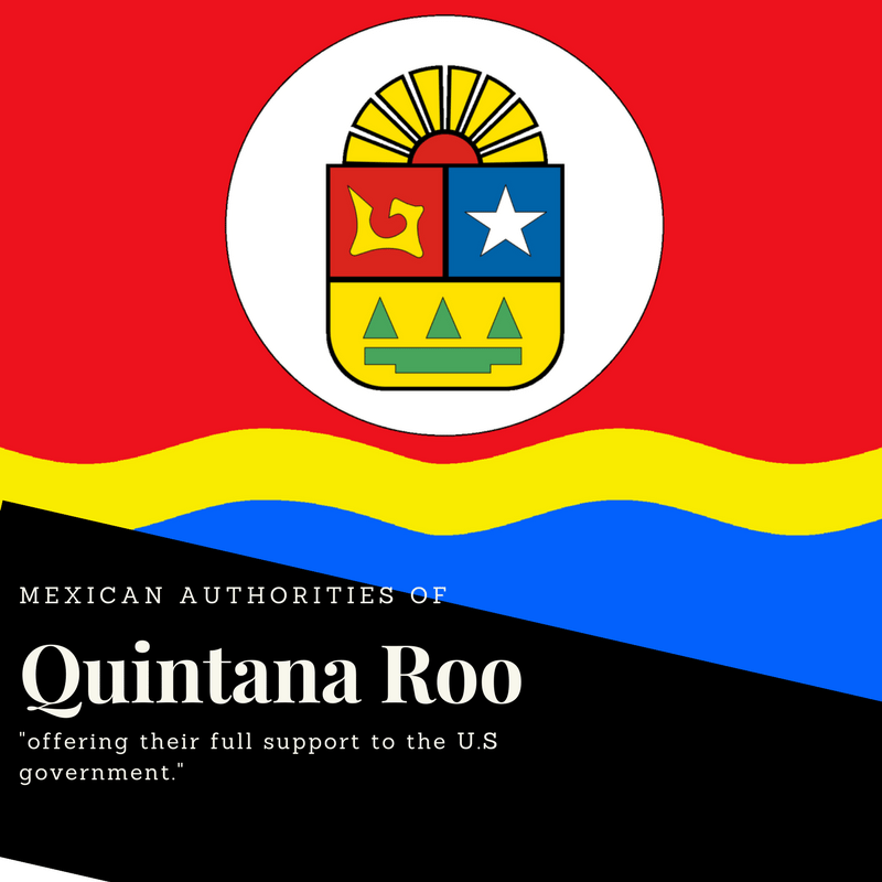 Mexican authorities of Quintana Roo sign