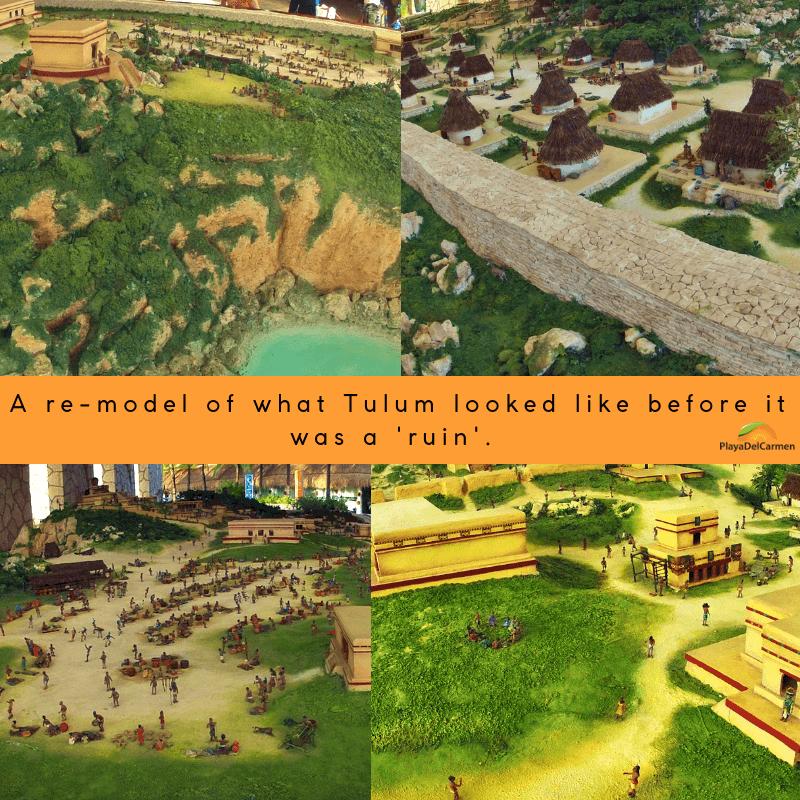Tulum Ruins Before