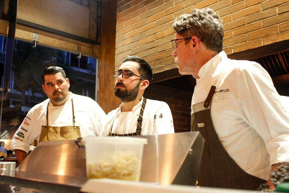 Rick Bayless Chef Event at Thompson Hotel Playa del Carmen