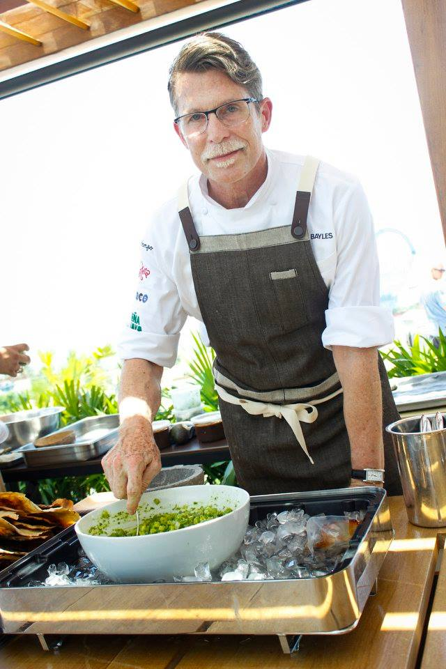 Chef Rick Bayless at Thompson Hotel in Playa del Carmen