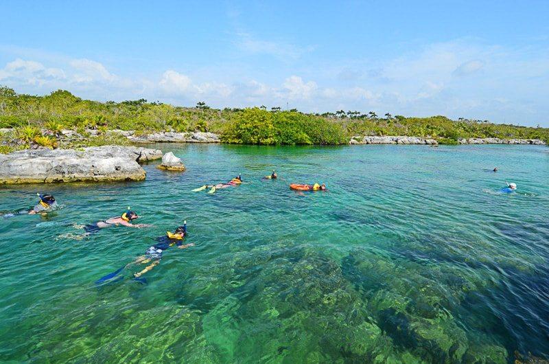 Riviera Maya snorkel tour at Yal-Ku in Akumal, Mexico