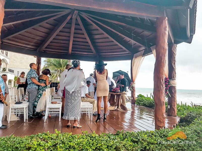 Royal Playa del Carmen wedding at The Royal Hotel