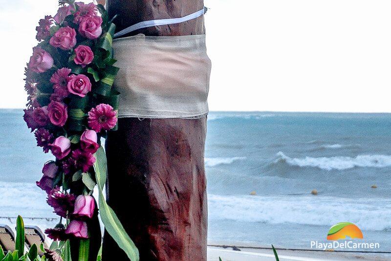 Bouquet of flowers at Royal Playa del Carmen
