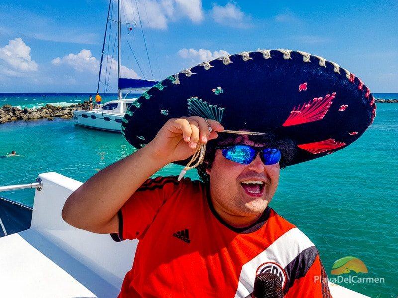 Playa del Carmen travel guru Luis Farfan