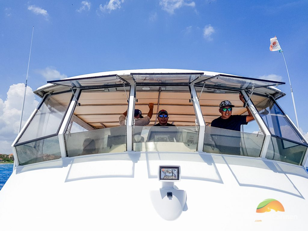 Playa del Carmen yacht rentals for snorkel and sail tours