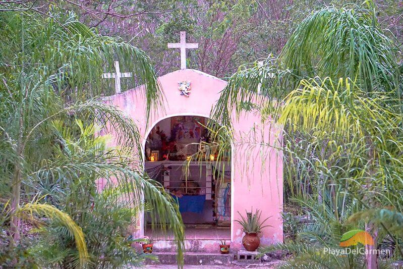 Dos Palmas Tulum church
