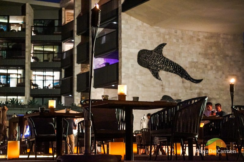 Grand Hyatt Playa del Carmen dinner