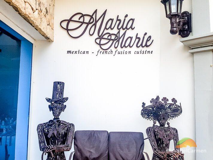 Mara Marie restaurant at Royal Playa del Carmen