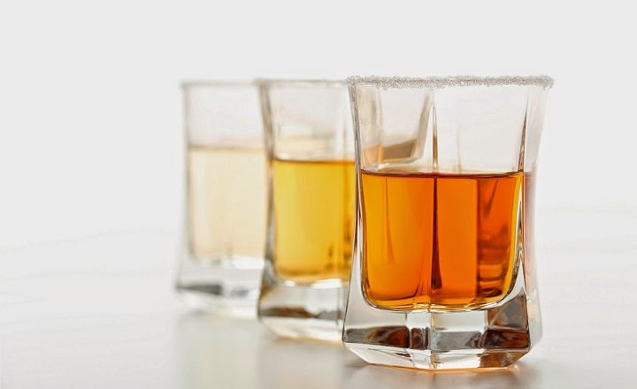 3 types of tequila
