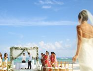 average cost of an all inclusive wedding in mexico