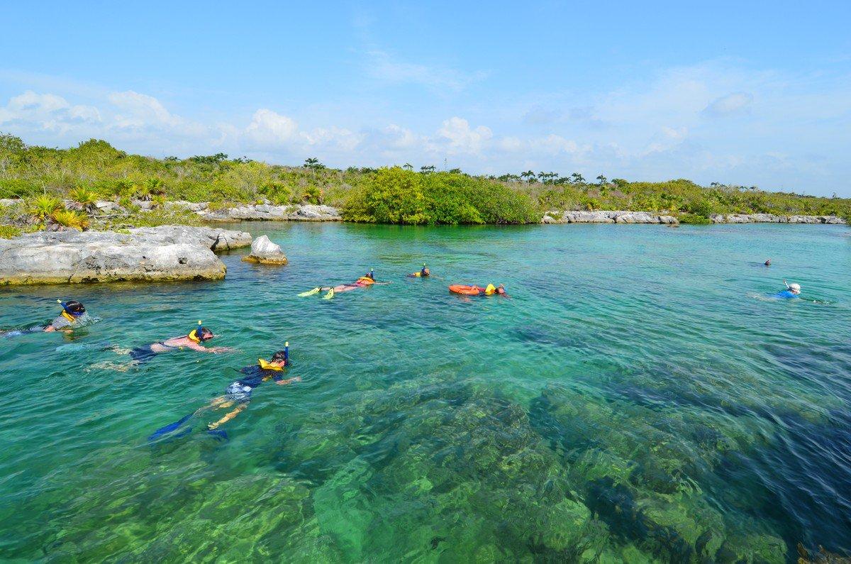 Yal-Ku Lagoon Akumal Mexico