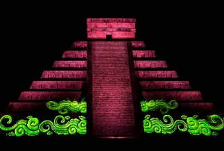 Chichen Itza by Night