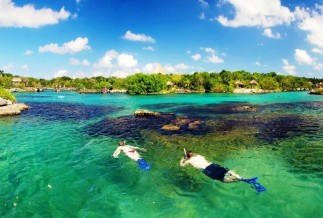 Xel-Ha snorkeling experience in the Riviera Maya