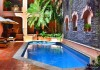 Swimming pool at Acanto Condo Hotel