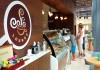 Cafe and gelato bar at the Royalton Riveira Cancun