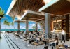 Breathless Riviera Cancun resort dining area