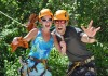 Excited to go zip lining