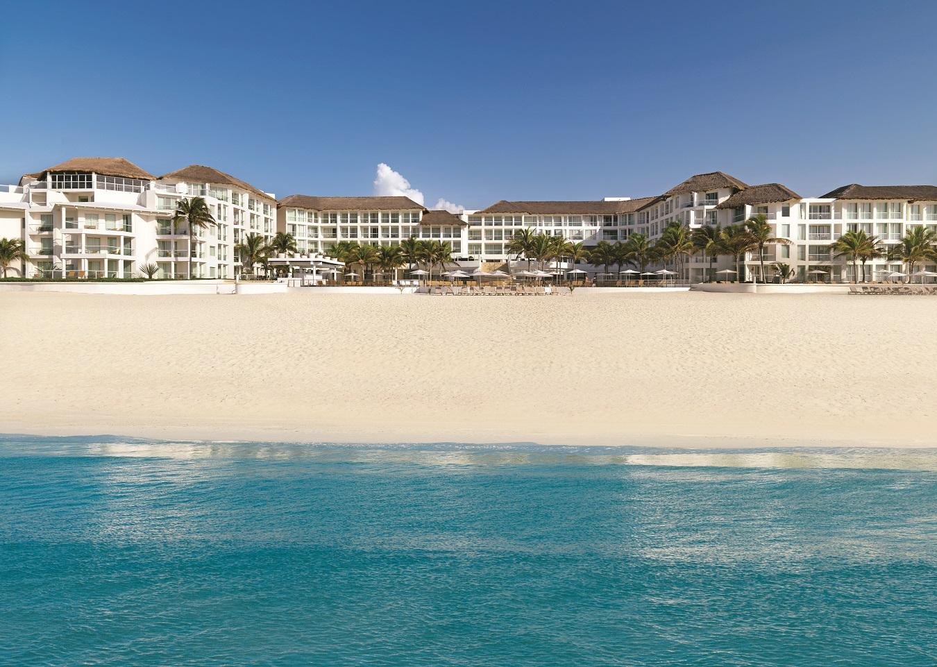 Playacar Palace hotel view