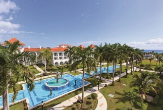 Riu Palace aerial view