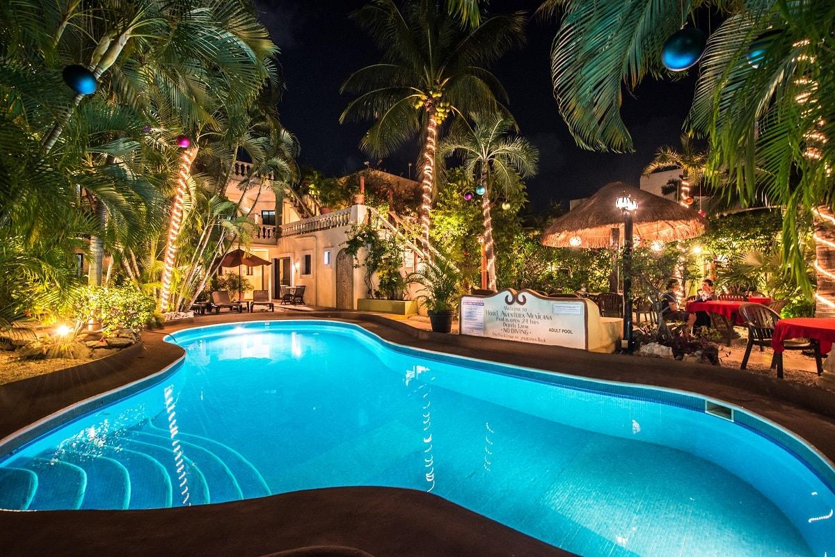 Aventura Mexicana pool