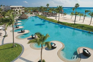 Secrets Akumal Ocean Front Pool Area