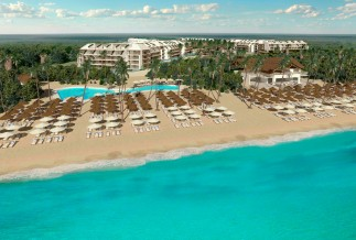 Ocean Paradise Riviera Maya aerial view