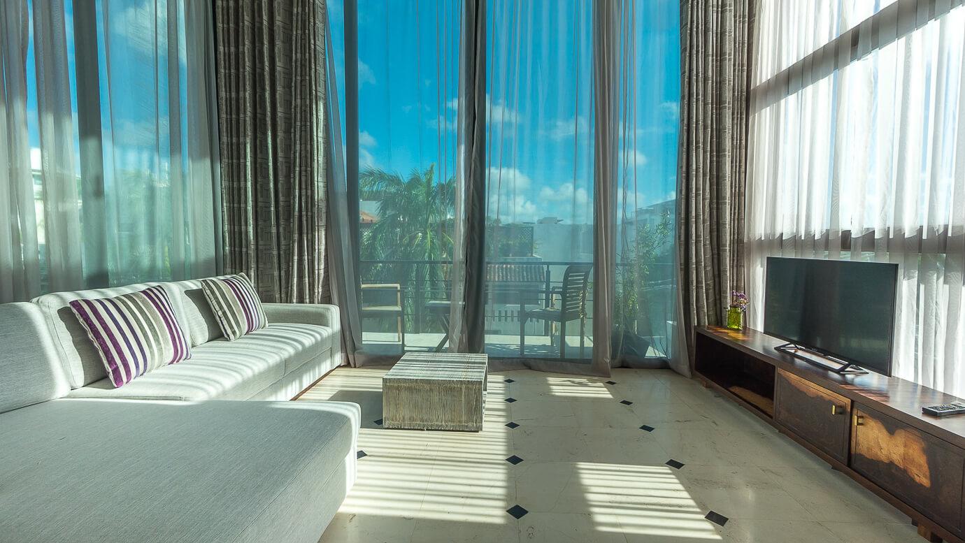 Playa del Carmen vacation rental at Lotus Apartments